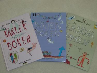 Pernilla Stalfelt har skrivit böckerna.