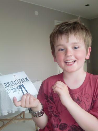 En stolt och lycklig William.