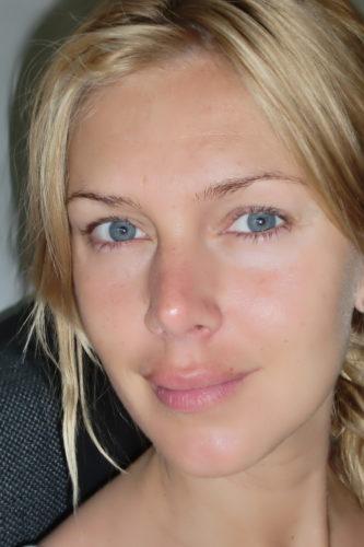 The real me, only for you Sannaivar. Osminkad, nyvaken och inte photoshoppad :-).