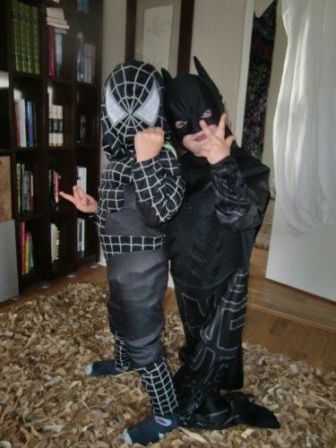 Mio och Tristan klädde ut sig.