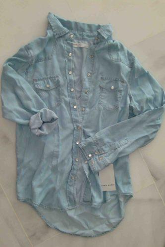 Gillar att 80-tals jeansskjortan har kommit tillbaka.