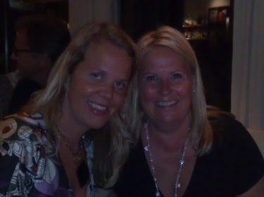 Bredvid oss satt Anna och hennes vän Inger. Tack Anna för dina uppmuntrande ord och jag är glad att du gillar bloggen!