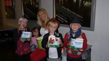 Alva-Leigh, Mio, jag, William och Alexander.