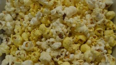 Jag fick mina popcorn så glädjen var total.