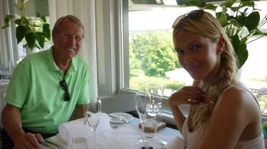 Vi åt en sen lunch på Sigtuna Stats Hotell.