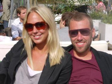 Det stilsäkra paret Jesper och Angelika.