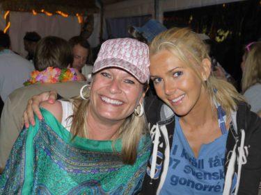 Jag och världens bästa Pernilla, min svägerska.