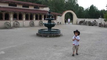Mio var en riktig liten cowboy.