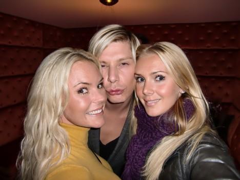 Skulle kunna vara en tredje syster Graaf i mitten.