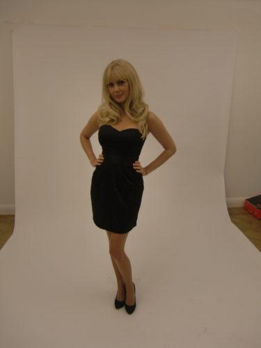 Klänning från H&M 149 kr, skor Zara och löshår från någon jag inte känner :-)
