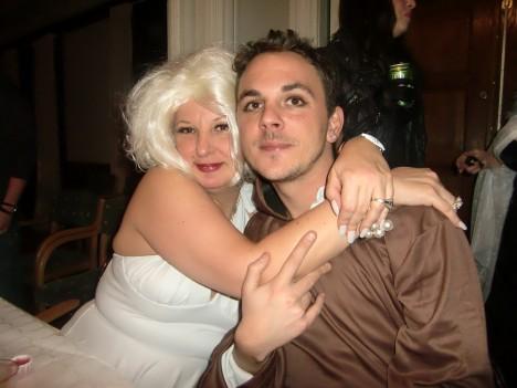 """Berit """"Marilyn Monroe"""" svärmade för Lill-Magnus, som nog hoppades på att hon hade varit en han istället :-)"""