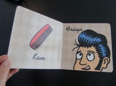 Här kan hon lära sig vad en riktig frisyr är :-)