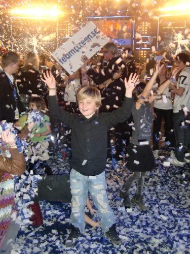 Det var inte bara jag som var glad över att Erik vann!