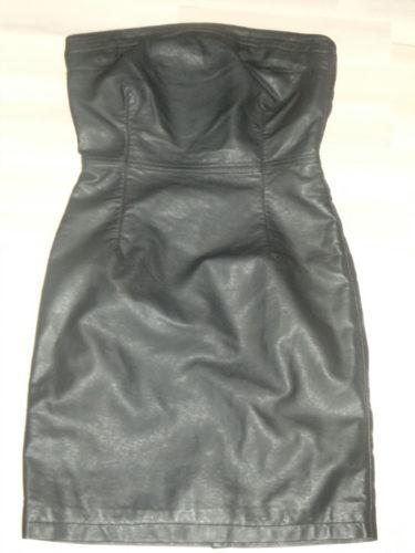 Julklappen till mig själv blev en klänning i fejkskinn från LINDEX.