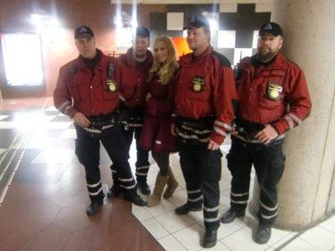Här är några av de som gör det säkrare för oss att åka tunnelbana. Tack!
