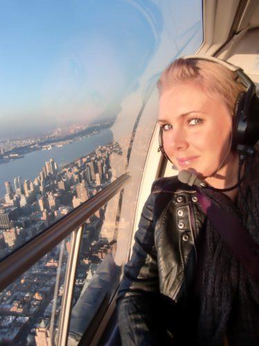 Vi tog en helikoptertur, och beundrade Manhattan från luften. Lite läskigt, men efter en stund så kunde jag slappna av och njuta.