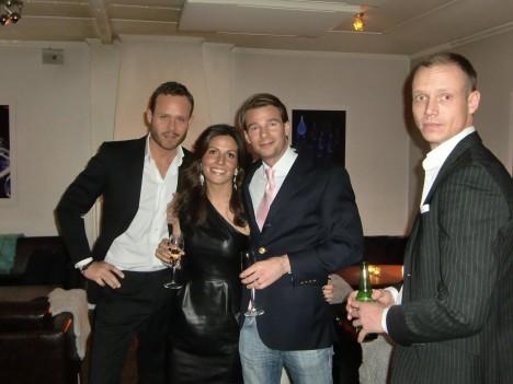 Snygga stylist/smink Jonas, Petra, Kasper och Bo.