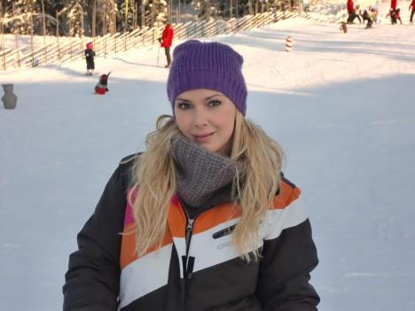Jag älskar snö och vinter, men 25 minus var lite för kallt.