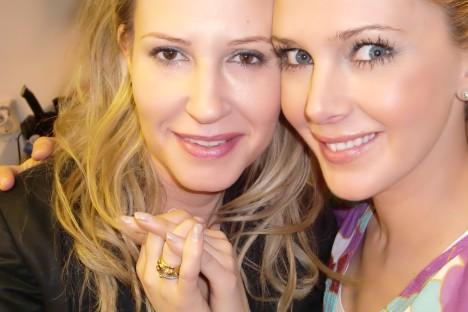 Johanna och moi.