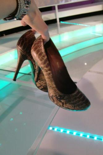 Jag ska klackhugga alla skor av ren avsky när vi är klara :-)