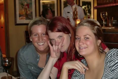 Johanna, Elisabeth och Sanna.