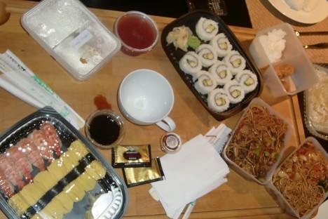 Skulle behövt Viktoria igår när min matlagning slutade i take-away från den lokala Japanstället.