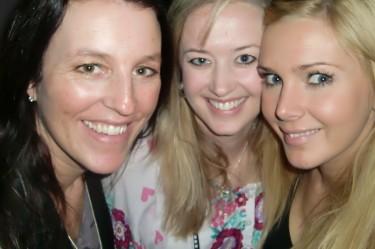 Lisa, Anna och jag.