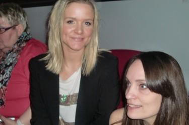 Zara och Annika.
