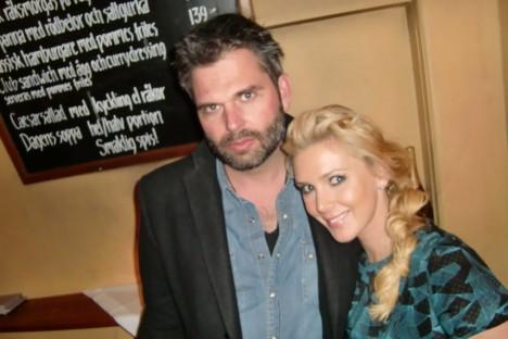 Träffade på Max som är presschef på TV3. Min kanal :-)