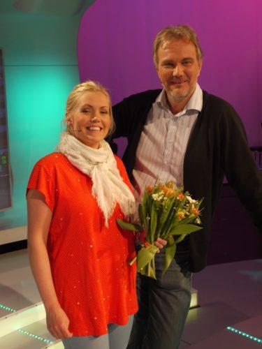...och Let´s dance Annika och Harald Treutiger. Annika som även blev mamma till lilla Kelvin för två månader sedan.