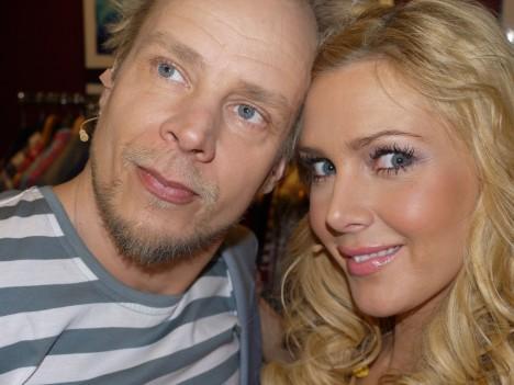 Mr och Mrs Lyckohjulet.