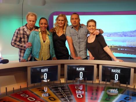 Kayo, Hasse Brontén och komikern Karin var några av våra tävlande.