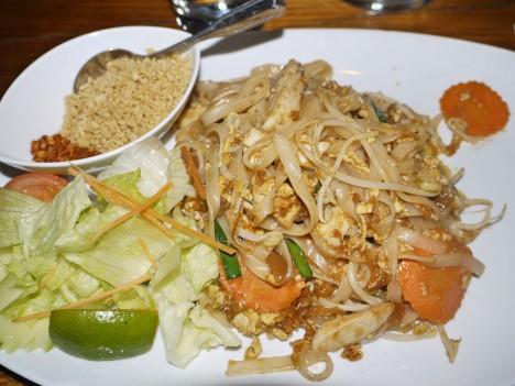 Jag åt som vanligt en Phad Thai.