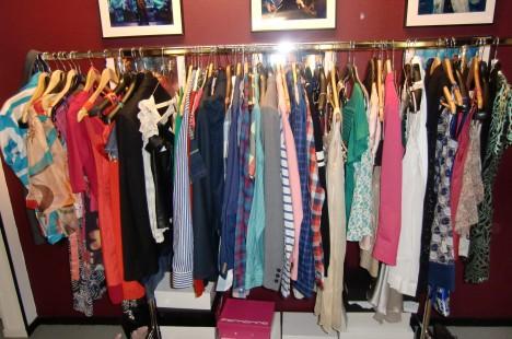 Härliga färger på alla snygga kläder.