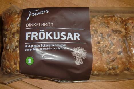 Supergott bröd, och nyttigt. Det ser i alla fall nyttigt ut.