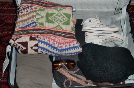 """Väskan är färdigpackad och allt är klart inför morgondagen. Kommer bli kul att åka till """"Glennland"""" (som Peter kallar mitt fina Göteborg :-))"""