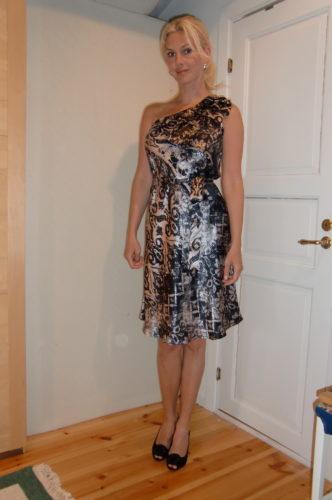 Klänning från MALINA.