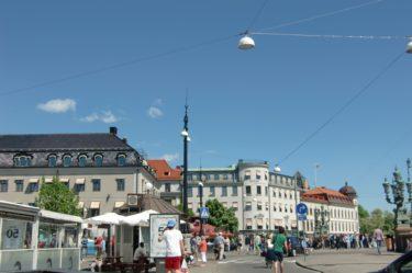 Innan vi for hem idag så njöt vi av solen. Jag gillar verkligen min gamla hemstad Göteborg, eller Glennland som Peter skulle sagt.