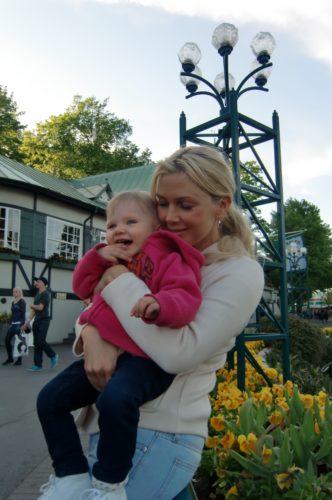 Liv älskade Liseberg. Hon åkte inget men lika kul var det för det.