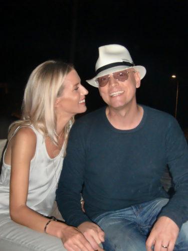 Vackra Filippa och hennes man Anders (som är en av Peters bästa vänner).