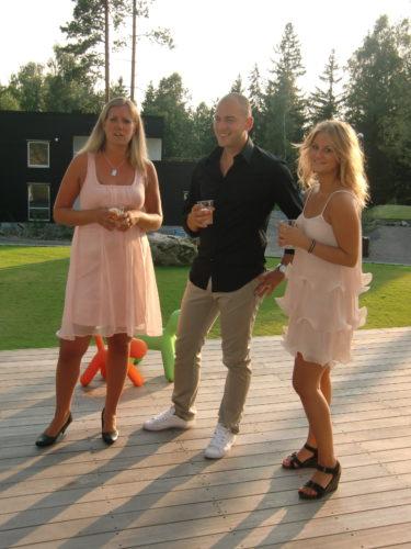 Malin och sanna, mina favorit kollegor från tiden i Göteborg och inspelningen av Lyckohjulet.