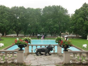 Brölloet ägde rum på Häringe Slott utanför stan och vi bodde även där över natten.