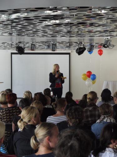 Ann Söderlund var konferencier.