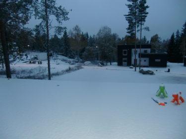 Nu kliar det i mina fingrar. Vill ta fram allt julpynt. Tänk vad lite snö kan göra med min julpyntsådra. Idag ska det handlas julmust.