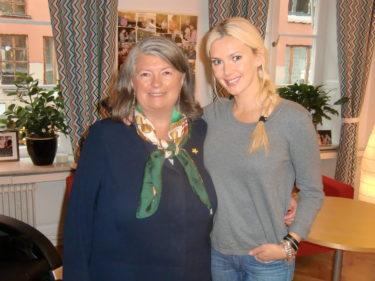 Fick äran att träffa Claire som är grundaren av Min stora dag.