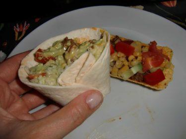 Mina favoriter är mini-tortillas och mini-tacotubs.