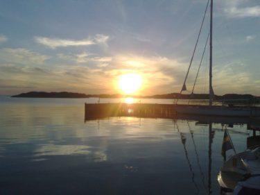 Och känslan den där sommarkvällen i Skärhamn...