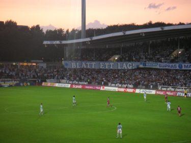 ...som nästan kan jämföras med minnet när Malmö FF fortfarande var ett topplag som spelade inför fulla läktare.