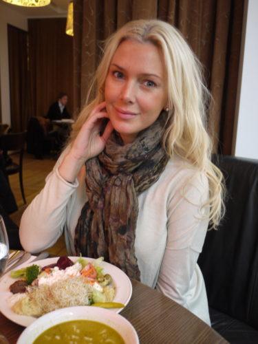 En lunch i lugn och ro med min man var efterlängtat.