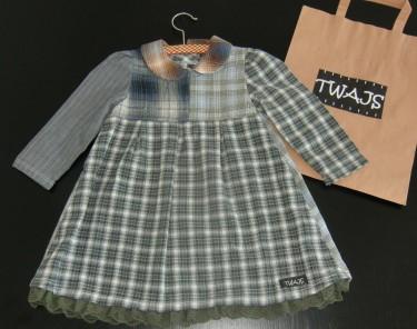 """Livs söta """"Lilla huset på prärien""""-influerade-klänning från Twajs."""